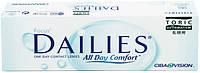 Контактные линзы Focus Dailies All Day Comfort TORIC, фото 1