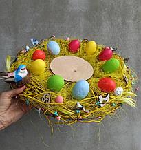 Тарілка-підставка для паски та яєць