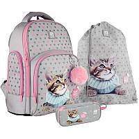 Набор рюкзак + пенал + сумка для обуви Kite Studio Pets