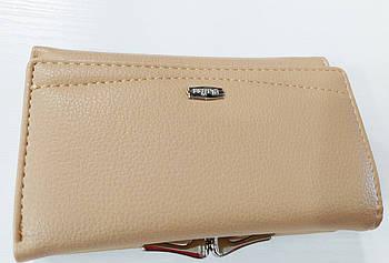 Жіночий гаманець Balisa C7601 хакі Жіночий гаманець з штучної шкіри закривається на магніт