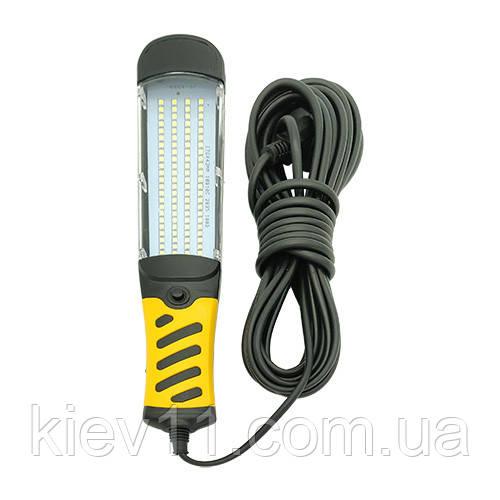 Переноска світлодіодна 10м 100LED 28Вт (220В) STANDART PROFI WLST-010