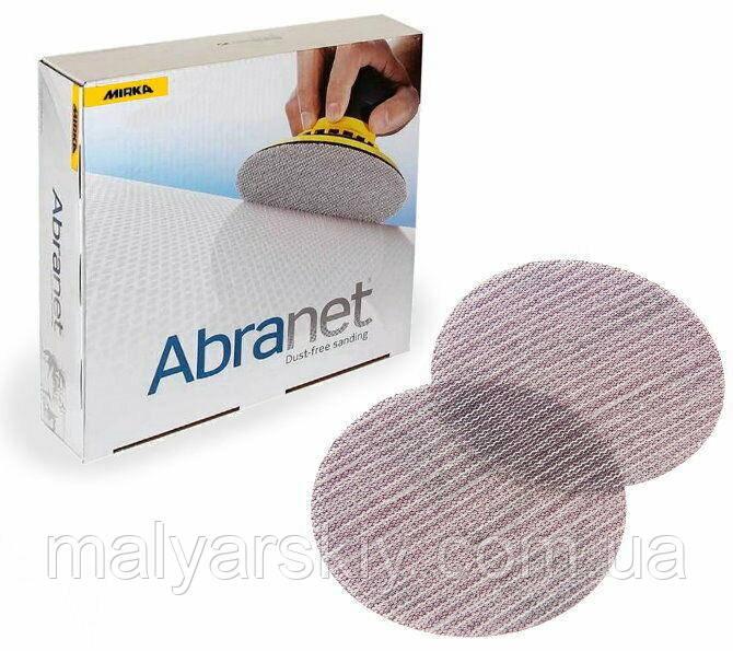 Абразивний круг сітка  ABRANET  150мм   P400*  MIRKA