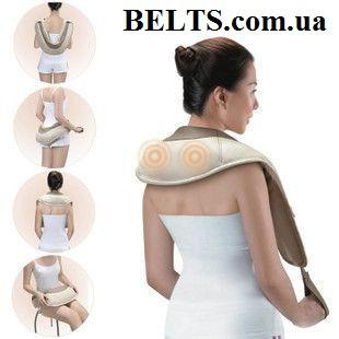 Мощный массажер для шеи и спины Cervical Massage Shawls (Сервикал Массаж Шолс)