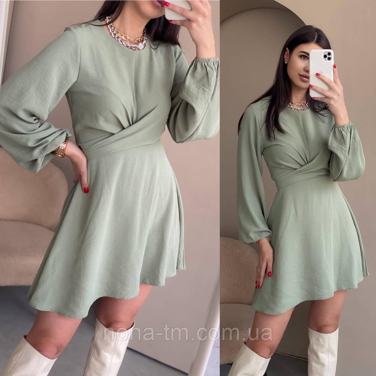 Гарне плаття жіноче з палітуркою