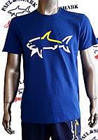 Футболка для мужчин/комплект футболка с шортами PAUL&SHARK,копия класса люкс. Турция