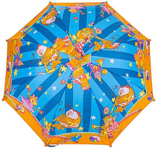 Зонт-трость облегченный детский Цирк полуавтомат AIRTON (АЭРТОН) Z1651-1