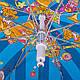 Зонт-трость облегченный детский Цирк полуавтомат AIRTON (АЭРТОН) Z1651-1, фото 5