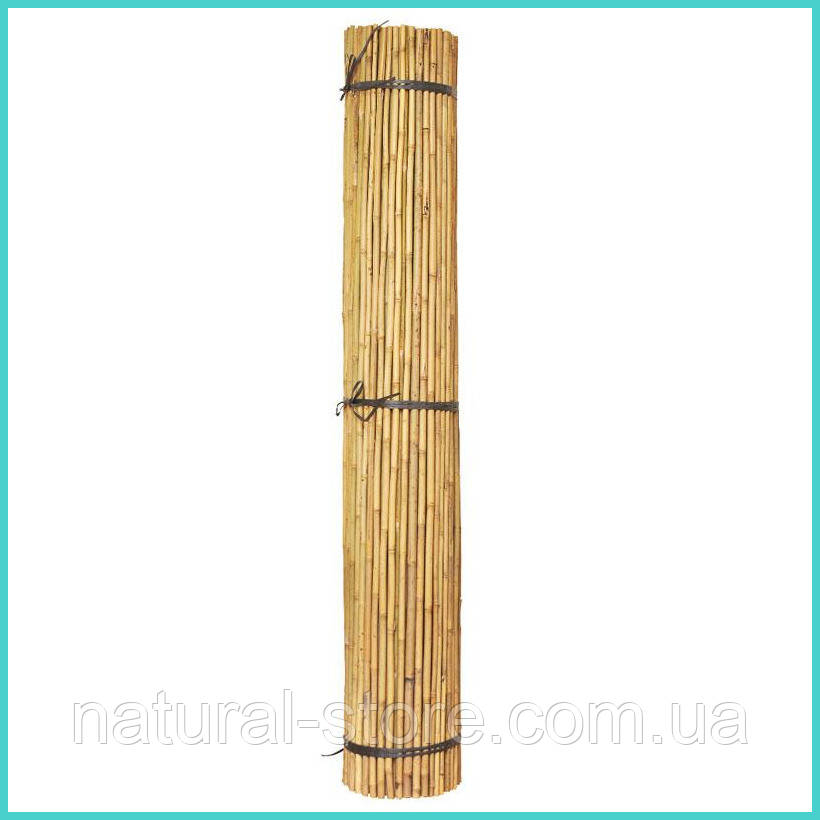 Бамбуковая опора L 2,1м. д.16-18мм. для подвязки высокорослых помидор