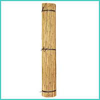 Бамбуковая опора L 2,1м. д.16-18мм. для подвязки высокорослых помидор, фото 1
