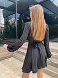 Красивое платье женское с переплетом, фото 4