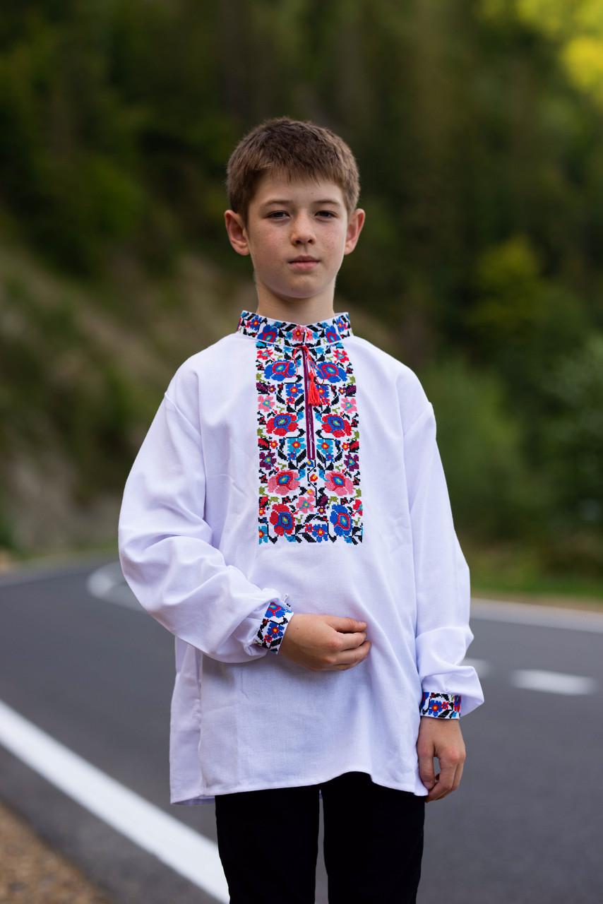"""Вишита сорочка для хлопчика """"Квіткова долина"""""""