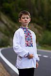 """Вишита сорочка для хлопчика """"Квіткова долина"""", фото 2"""
