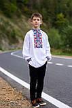 """Вишита сорочка для хлопчика """"Квіткова долина"""", фото 6"""