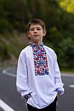 """Вишита сорочка для хлопчика """"Квіткова долина"""", фото 5"""