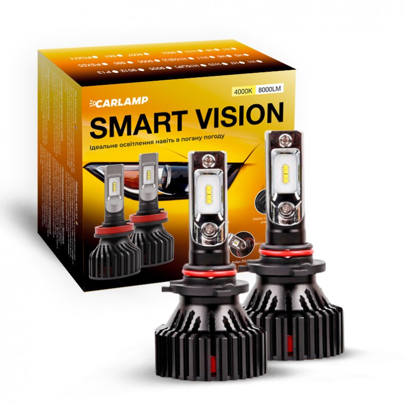 Smart Vision HB3 4000K SM9005Y Світлодіодні автолампи CARLAMP