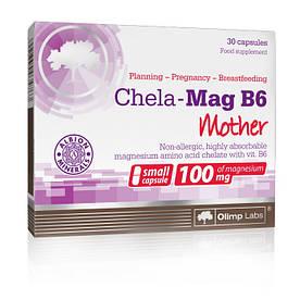 Витамины и минералы Olimp Chela-Mag B6 Mama, 30 капсул