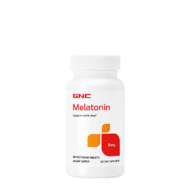 Відновник GNC Melatonin 5, 60 таблеток