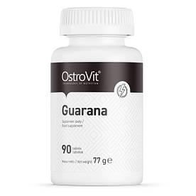 Предтренировочний комплекс OstroVit Guarana, 90 таблеток