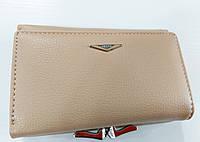 Женский кошелек Balisa C7684 хаки Небольшой женский кошелек с искусственной кожи закрывается на кнопку