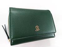 Жіночий гаманець Balisa C6602 зелений Невеликий жіночий гаманець з штучної шкіри закривається на кнопку, фото 1