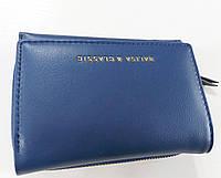 Женский кошелек Balisa C6602 синий Небольшой женский кошелек с искусственной кожи закрывается на кнопку