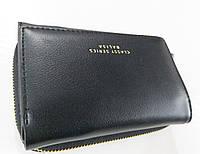Женский кошелек Balisa C6602 черный  Небольшой женский кошелек с искусственной кожи закрывается на кнопку