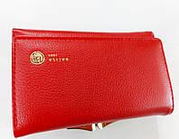 Женский кошелек Balisa C7601 красный Женский кошелек с искусственной кожи закрывается на магнит