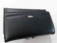 Женский кошелек Balisa C7601 черный Женский кошелек с искусственной кожи закрывается на магнит