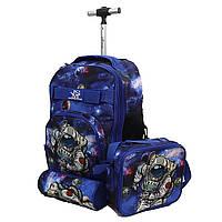 """Набір дитячий: рюкзак + сумка + пенал """"Космонавт"""" JO LH1197-6"""