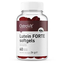 Натуральная добавка OstroVit Lutein Forte, 60 капсул