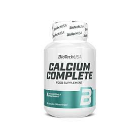Витамины и минералы BioTech Calcium Complete, 90 капсул