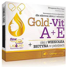 Витамины и минералы Olimp Gold-Vit A+E, 30 капсул