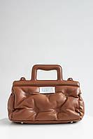 Сумка женская FAMO Сумка Эвита коричневая 31*22*11 (8101)