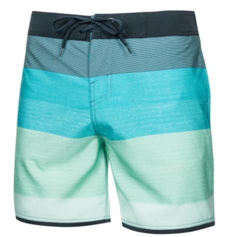 Пляжные шорты мужские Aqua Speed Nolan S Бирюзовые (7541)