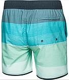 Пляжные шорты мужские Aqua Speed Nolan S Бирюзовые (7541), фото 2
