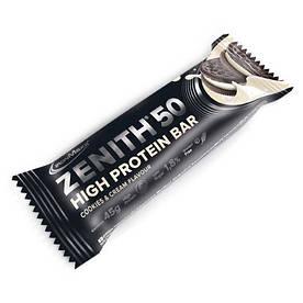 Батончик IronMaxx Zenith 50, 45 грам Печиво крем