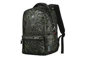 Рюкзак для ноутбука Wenger Colleague Black Fern Print (606466)