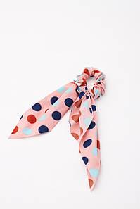 Гумка для волосся FAMO Гумка Твилли рожева One size (5-6262) #L/A
