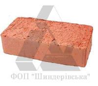 Кирпич рядовой строительный М125 полнотелый