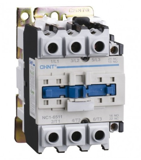 Контактор  NC1-6511 65A 1NO+1NC 220V 50Hz СНІNT