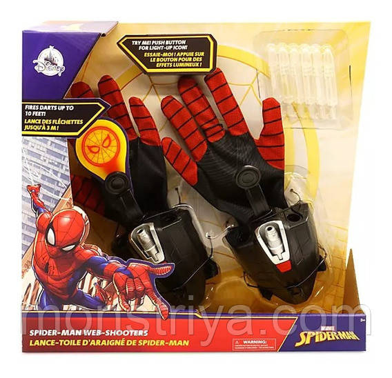 Интерактивные перчатки Человек-паук Возвращение домой Spider-Man Disney Marvel