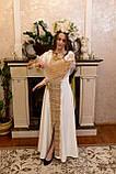Золота вишита сукня «Графиня», фото 5