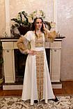 Золота вишита сукня «Графиня», фото 3