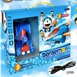 Антигравитационная машинка Doraemon 3199 | радиоуправляемая машинка с пультом ДУ ездит по стенам и потолку