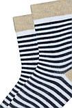 Набір 3 шт. Шкарпетки для немовлят демісезонні Bross з бавовни, фото 2