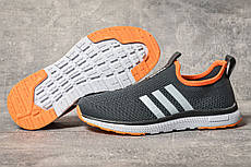 Кросівки жіночі 17604, Adidas sport, темно-сірі, [ 39 41 ] р. 39-25,5 див.