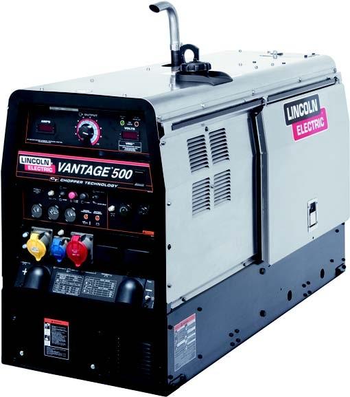 Vantage 400 CE, Vantage 500 CE сварочные генераторы LINCOLN ELECTRIC
