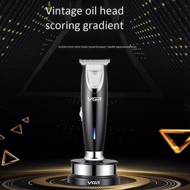 Профессиональная машинка для стрижки волос с насадками VGR V-006   триммер для волос   бoдигpумep