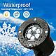 Лазерний проектор для будинку Star Shower White Криву WP1 | гірлянда лазерна підсвічування для будинку, фото 2