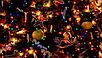 Гірлянда 100LED (СП) 9м Мікс (RD-7138), Новорічна бахрама, Світлодіодна гірлянда, Вулична гірлянда, фото 4